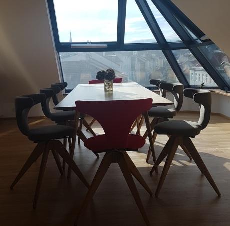 Freistitz - Stühle und Tisch